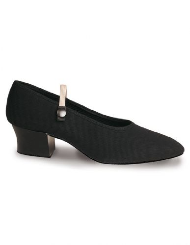 Roch Valley Canvas Character shoe cuban heel.